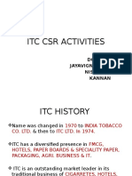 ITC CSR PPT