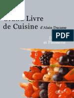Dessert Et Patisserie - Alain Ducasse
