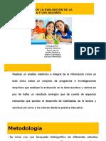 MetaanálisisProgramas de Lectoescritura y Valores