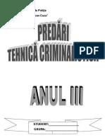 Notiunea Obiectul - Principiile Metodele Si Sistemul Criminalisticii