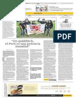 Quidditch en el Perú (Entrevista a Williams Rojas - FPQ)