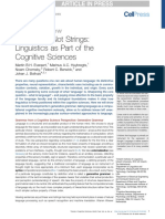 EVERAERT Et Al (2015) - Structures, Not Strings. Linguistics as Part of the Cognitive Sciences