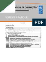 UNDP Lutte Contre La Corruption
