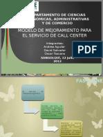 Modelo de Gestión de Servicios Call Center