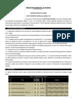 1110 - Edital Concurso Araras