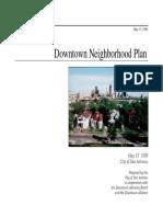 Riverwalk Downtown Plan FINAL 1999