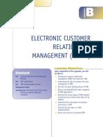 E-CRM - customer