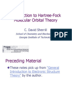 Hartree Fock Intro