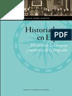 Historiadores en España - Peiró Martín, Ignacio