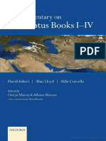 A Commentary on Herodotus Books I-IV