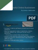 period 4 valenzuela jocelyn- most successful online businesses