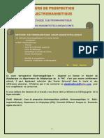 Methode Radio-Magnétotellurique (RMT)