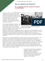 Preso No Passado Ou Aberto Ao Futuro_ - Revista de História