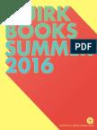 Quirk Books Summer 2016 Catalog
