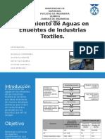 Tratamiento de Aguas en Efluentes de Industrias Textiles