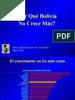 Por Que Bolivia No Crece Mas-bid 2000