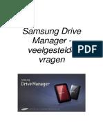 DUT_Samsung Drive Manager FAQ Ver 2.5