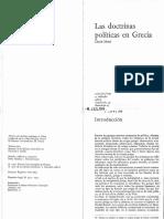 (Colección Beta, 13.) Claude Mossé-Las Doctrinas Políticas en Grecia-A. Redondo (1971)