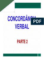 Conc Verbal Parte 2 - 2º Bloco