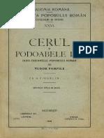 Tudor Pamfile - Cerul și podoabele lui - după credințele poporului român - Ședința dela 28 mai 1914
