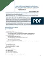 Recommandations AFU ADK Prostate