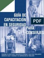 Guía de Capacitación en Seguridad Para Conserjes