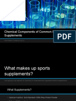 chemical components of common sports supplements