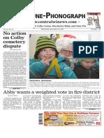 December 16, 2015 Tribune-Phonograph