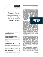 2- Thermal Energy Storage Systems