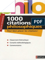 1000 Citations Philosophiques