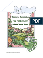 Draconic Templates for Pathfinder
