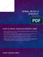 spinal muscle atrophy