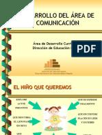 DESARROLLO DEL ÀREA DE comunicación nuevo 30 mar