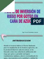 Inversion Caña