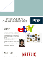 10 successful online businesses