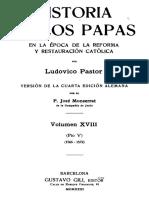 PASTOR-Historia de los Papas 18