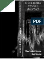 Frankfort - Nachmias Ch., Nachmias D., Metody Badawcze w Naukach Społecznych