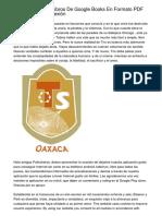 Como Descargar Libros De Google Books En Formato PDF Para Leer Sin Conexión