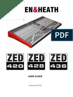ZED240 soundboard