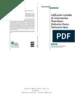 clasificacion aeca instrumentos financieros