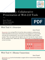 3 2 activity- collaborative presentation of web 2 0 tools