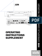 CDR830 Plus User Guide
