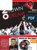 Football Keepsake 2015