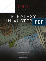 Strategy in Austerity
