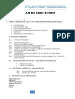 Plan de Monitoreo Arquelogico de La Ciudad de Ferreñafe