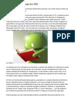 Descarga Libros Gratis En PDF