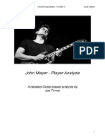 John Mayer - Guitar Player Analysis (w/Song Examples)