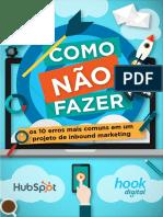 Brazil Hook 10 Erros de Inbound Marketing