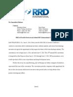 sara rrd news release final -2