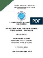 Proyecto Primer Parcial Planificación